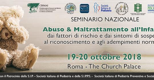 Abuso e maltrattamento all'infanzia – seminario nazionale CISMAI
