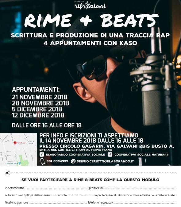 Rifr@zioni: Rime + Beats dà il via al progetto a Busto Arsizio