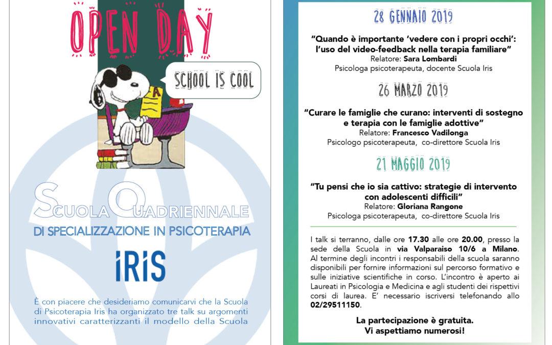 OPEN DAY Scuola quadriennale di specializzazione in psicoterapia IRIS