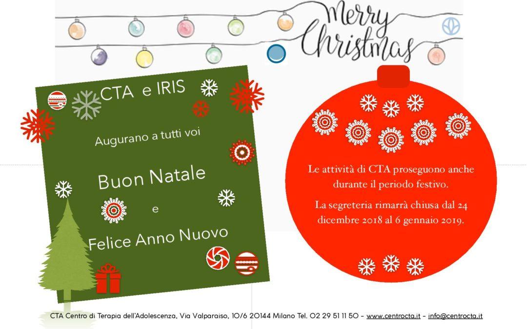 Buon Natale e felice anno nuovo da CTA e IRIS