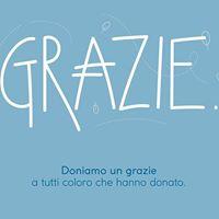 Grazie ai nostri donatori – raccolta fondi CTA Tigotà: