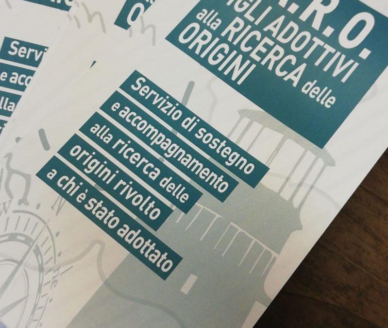 FARO Figli Adottivi alla Ricerca delle Origini, nuovo servizio CTA