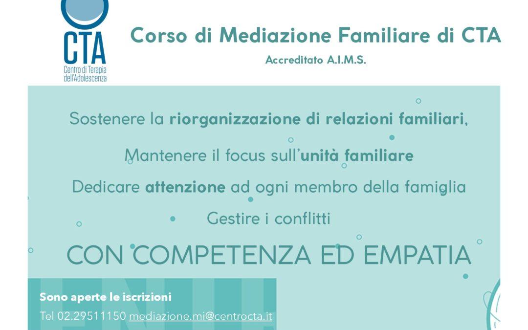 Scuola biennale CTA di mediazione familiare sistemica dell'età evolutiva