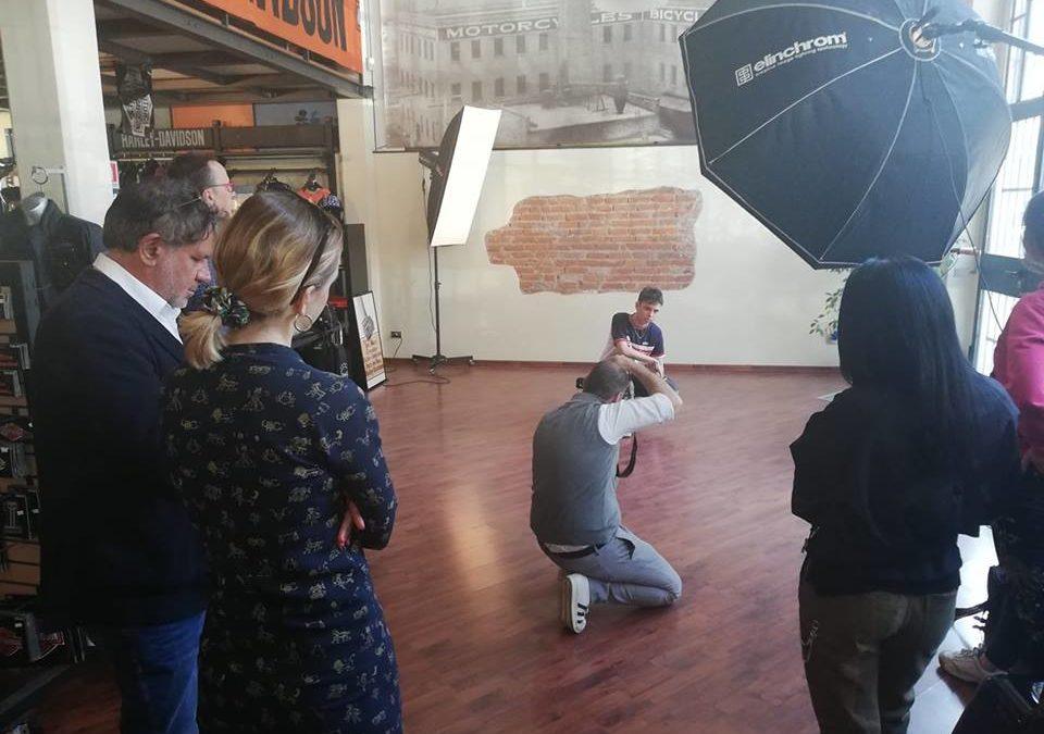 La mia storia sulla pelle – shooting fotografico in preparazione della mostra