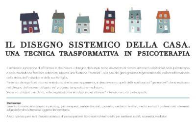 Il disegno sistemico della casa, una tecnica in psicoterapia – seminario per operatori