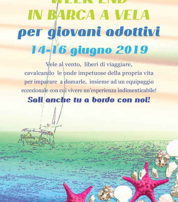 Weekend in barca a velaper giovani adottivi 14-16 giugno 2019
