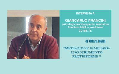 Mediazione familiare: uno strumento proteiforme – Intervista a Giancarlo Francini