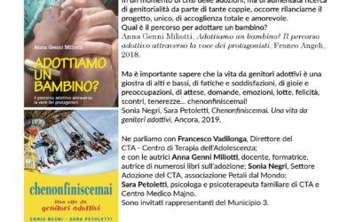 Adozione: ne parliamo in biblioteca con Sara Petoletti, Sonia Negri, Francesco Vadilonga e Anna Miliotti