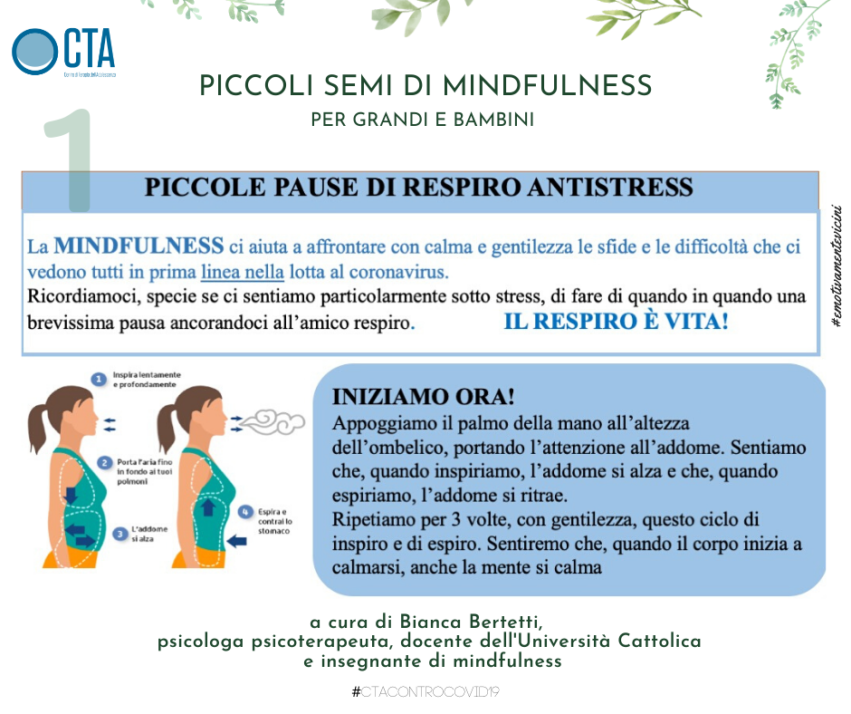 Piccoli semi di mindfulness – 1. Piccole pause di respiro antistress