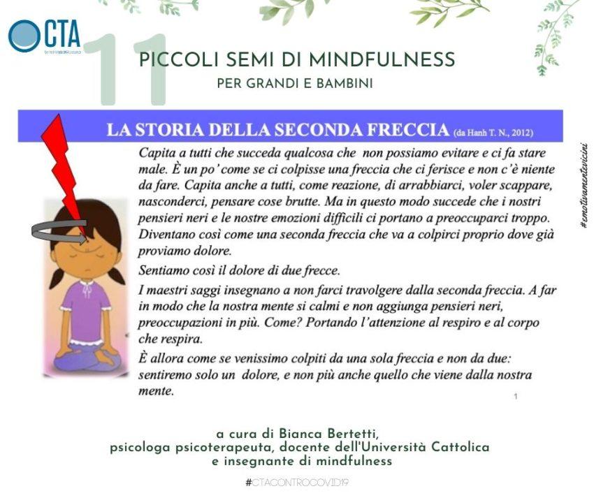Piccoli semi di mindfulness a cura di Bianca Bertetti 11. La storia della seconda freccia