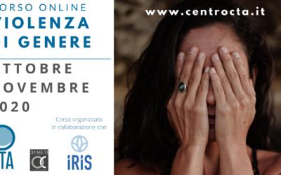 Corso online LA VIOLENZA DI GENERE: L'IMPORTANZA DEL LAVORO DI RETE