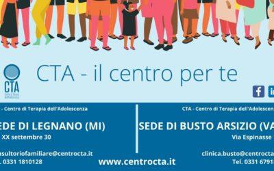 CTA è anche a Legnano (MI) e Busto Arsizio (VA). Lo sapevate?