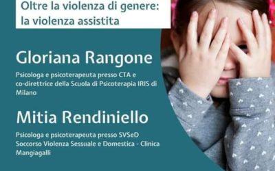 Le vittime della violenza domestica. Oltre la violenza di genere: la violenza assistita – Redipsi
