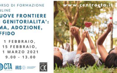 Corso di formazione online NUOVE FRONTIERE DI GENITORIALITA': PMA, ADOZIONE, AFFIDO
