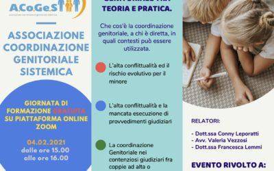 La coordinazione genitoriale tra teoria e pratica – evento gratuito per Giudici