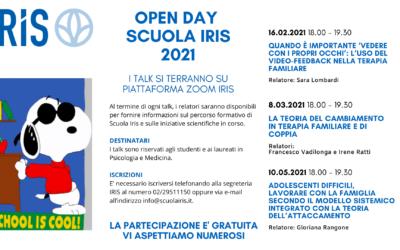 Aperte le iscrizioni alla scuola di specializzazione in psicoterapia IRIS – tre open day in programma