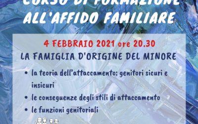 Corso sull'affido familiare – II incontro – partecipazione GRATUITA