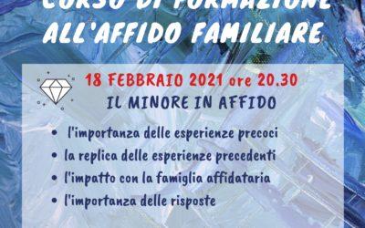 Corso sull'affido familiare – III incontro – partecipazione GRATUITA