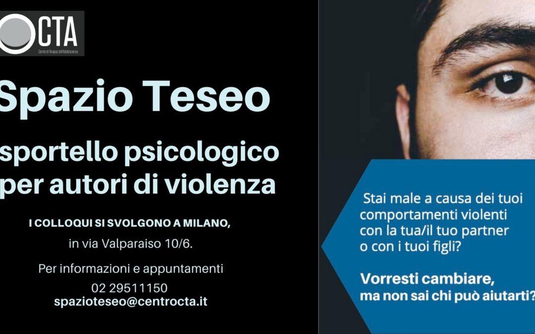 Spazio TESEO, sportello psicologico per autori di violenza – CTA