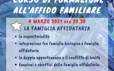 Corso sull'affido familiare – IV incontro – partecipazione GRATUITA
